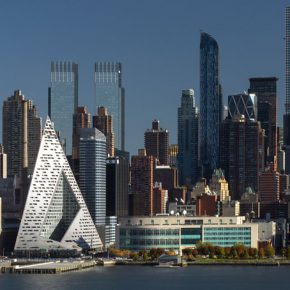 Manhattan High-Rise Meets European Courtyard in BIG's Courtscraper
