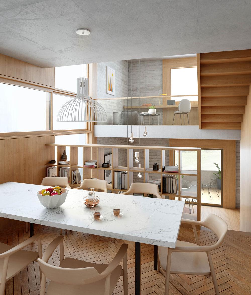 Weston Street, Inhabit Homes, London, interior