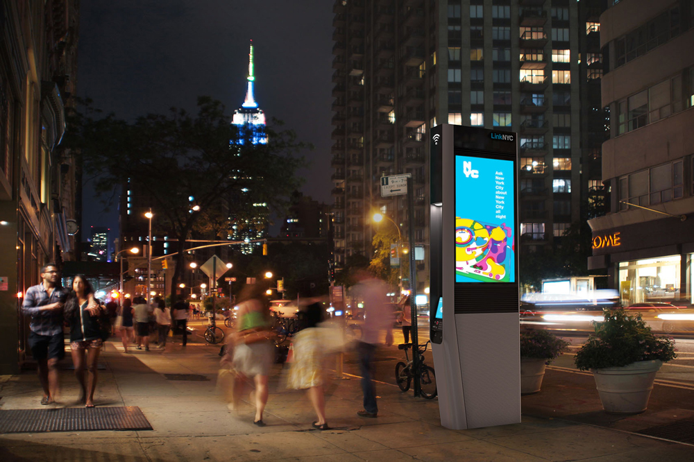 LinkNYC by Google's startup Sidewalk aims to make cities smarter.