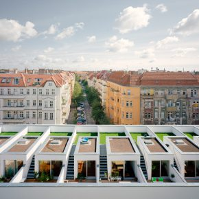 Urban BIGyard: Co-Housing Development by Zanderroth Architekten
